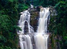 Waterfall Ramboda Stock Photos