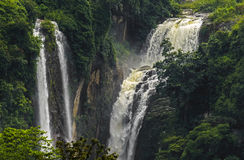 Waterfall Ramboda Royalty Free Stock Photography