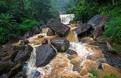 Waterfall Ramboda in Sri Lank Stock Image