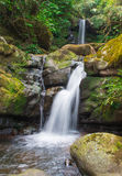 Waterfall from ravine Royalty Free Stock Photography