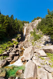 Waterfall Regina del Lago - Adamello Trento Italy Stock Photography