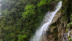 Waterfall in the Republic of Abkhazia North Caucasus. Male tears stock footage