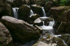 Waterfall, Republic of Ireland. Long term exposure royalty free stock image