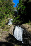 Waterfall - Rerekawau, New Zealand Royalty Free Stock Image