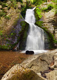 Waterfall in Resov in Moravia, Czech republic Stock Photos