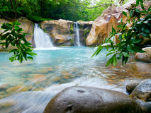 Waterfall at the Rincón de la Vieja NP Stock Image