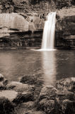 Waterfall with river Royalty Free Stock Image
