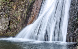 Waterfall in a river Royalty Free Stock Images