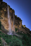 Waterfall River Borosa. In Sierra de Cazorla National Park Stock Image