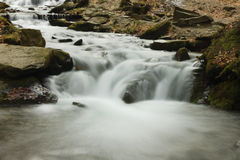 Waterfall on river Stock Photos