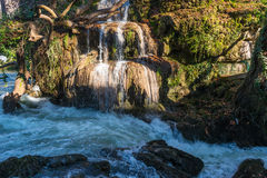Waterfall and river Stock Image
