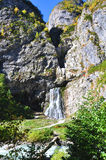 Waterfall on the river Gega stock photography