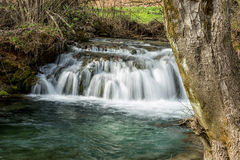 Waterfall on the river Lisina in Serbia Royalty Free Stock Photo