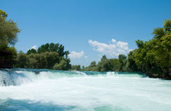Waterfall on  river Manavgat, Turkey Stock Images