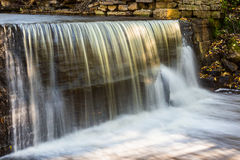 Waterfall in a river Stock Photography