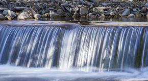 Waterfall river Stock Image