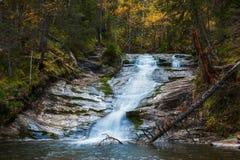 Waterfall on river Shinok Stock Photography
