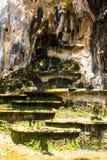 Waterfall rock layer Stock Photography