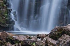 Waterfall rocks Stock Image