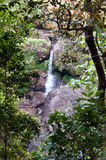 Waterfall, rocks and forest. Sri Lanka Royalty Free Stock Photos