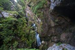 Waterfall Rocks Nature Stock Image