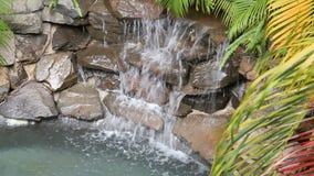 Waterfall On Rocks stock video