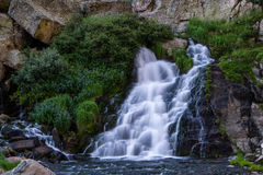 Waterfall in Rocky Mountain National Park Royalty Free Stock Photo