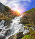 Waterfall Rod Stock Photography