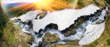 Waterfall Rod Stock Photo