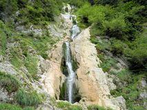 Waterfall. In Rodnei Mountains Romania Stock Images