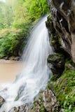 Waterfall Rufabgo. Mountain of Adygea Royalty Free Stock Photography