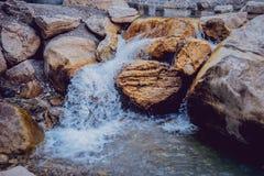 Waterfall. Running water Royalty Free Stock Photo