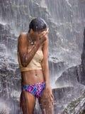Waterfall rush Royalty Free Stock Image