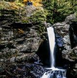 Waterfall New England Royalty Free Stock Image