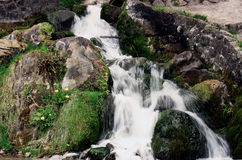 Waterfall. In Rye Park, High Wycombe, United Kingdom Stock Images