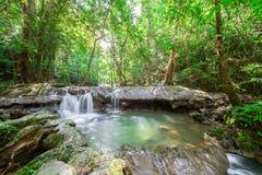 Waterfall at Sa Nang Manora Forest park in Phangnga province Stock Photography