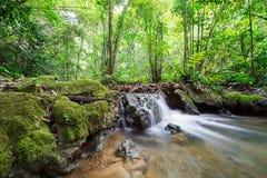 Waterfall at Sa Nang Manora Forest park in Phangnga province Royalty Free Stock Photography