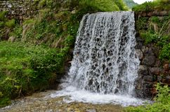 Waterfall - Sadu Royalty Free Stock Photography