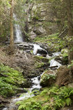 Waterfall Saint Spirit and Spring in Rhodopes Mountain Royalty Free Stock Photography
