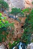 Waterfall at Saklikent Gorge in Turkey Royalty Free Stock Image