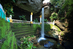 Waterfall. Sangchan Waterfall, Thailand. Known as the heart shape waterfall for it's characteristic Royalty Free Stock Photo
