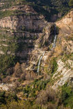 The waterfall of Sant Miquel del Fai Royalty Free Stock Photography