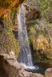 Waterfall of Sant Miquel del Fai Stock Photography