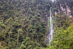Waterfall. In Santa Rosa de Cabal, in Colombia Stock Images