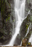 Waterfall at Sao Miguel Island) Royalty Free Stock Images