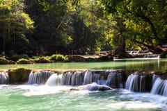 Waterfall. At Saraburi National Park in Thailand Royalty Free Stock Photography