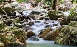 Waterfall at sarika Stock Image