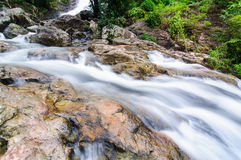 Waterfall at sarika Royalty Free Stock Photography