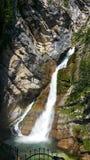 Waterfall Savica Stock Photos