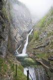 Waterfall Savica, Bohinj, Slovenia Stock Image